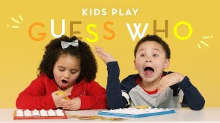 Kids Play Guess Who | Kids Play | HiHo Kids