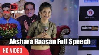 Akshara Haasan Full Speech | Laali Ki Shaadi Mein Laddoo Deewana Trailer Launch