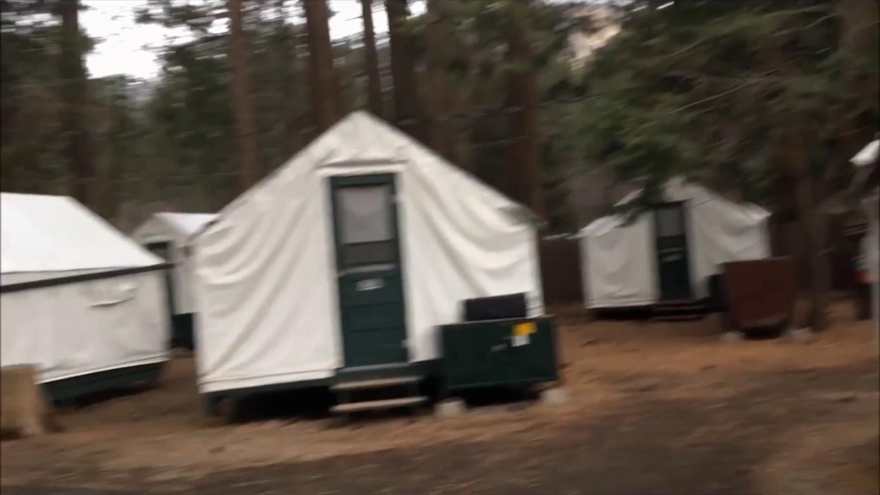 Half Dome Village Cabin Stay!