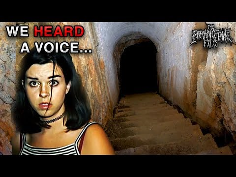 Was Somebody In This SCARY Abandoned Nazi Bunker With Us?! | THE PARANORMAL FILES