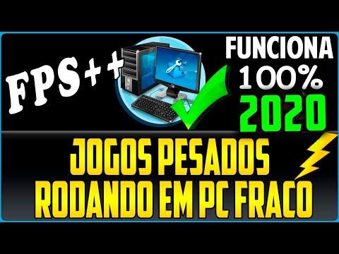 Como Aumentar Muito o FPS dos Jogos Em PC Fraco Com Low Spec Experience 2020 Nova Versão