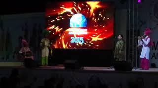 Folk Song2-Nachda Punjab Youth Club at Muscat Festival 2015(ICCR)-Kulwant Singh Randhawa(President)