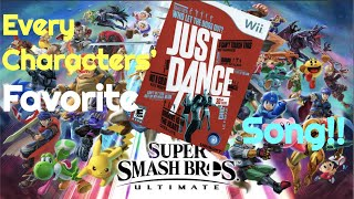Smash Fighters' Favorite Just Dance Songs!