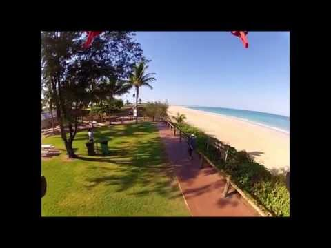 Maybe the best beach in Australia, Cable Beach Broome WA from Flamewheel 550