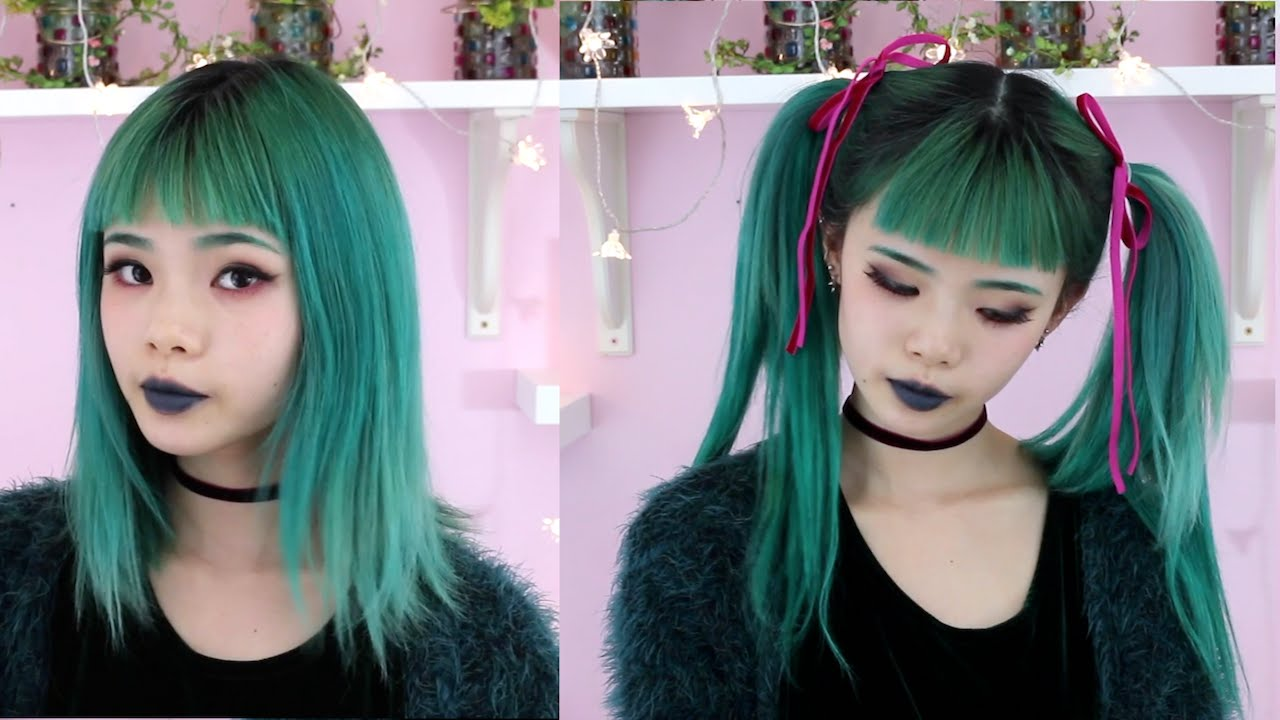 Twin Tail Transformation Tutorial With Clip In Extensions