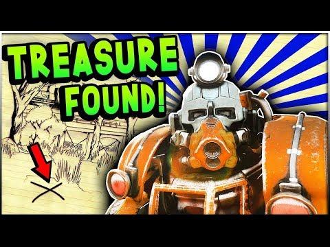 Fallout 76  - Unraveling The Locations of TREASURE HUNTING! (Fallout 76 Treasure Map Guide) thumbnail