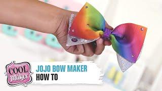 JoJo Bow Maker How To