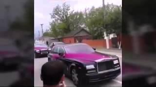 Кортеж со свадьбы племянника Рамзана Кадырова