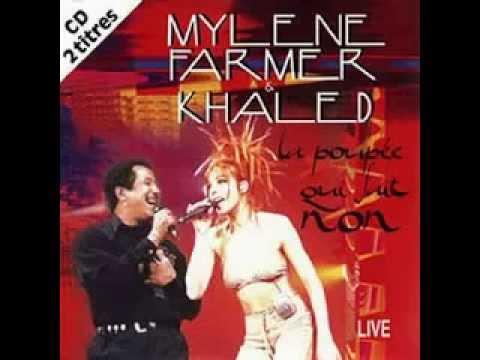 Cheb Khaled & Mylène Farmer -  La Poupée Qui Fait Non (live) 1997