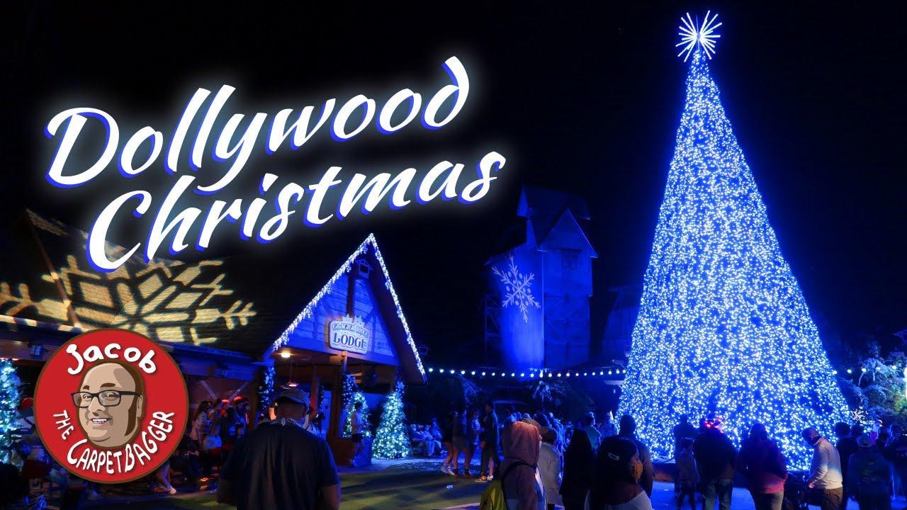 Dollywood Christmas Lights 2021 Dollywood Smoky Mountain Christmas 2020 Youtube