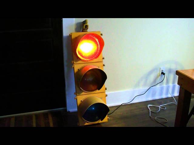 Traffic Signal / Stop Light Wiring With Arduino Controller: 7 ...