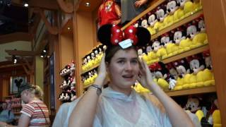 Walt Disney World Vacation 2016 | Day 1 | Travelling and Disney Springs