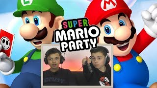 SUPER MARIO PARTY MET AZIZ !! | Let's Play #2