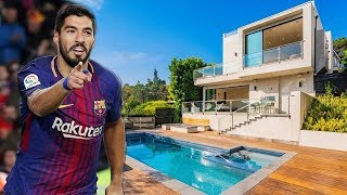 Luis Suárez Incredible House in Barcelona Inside Tour (Interior & Exterior) | 2019 NEW