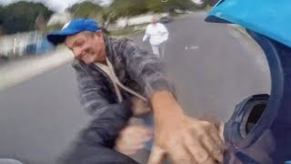 STUPID, CRAZY & ANGRY PEOPLE Vs BIKERS | DON'T MISS IT! [Ep #716]