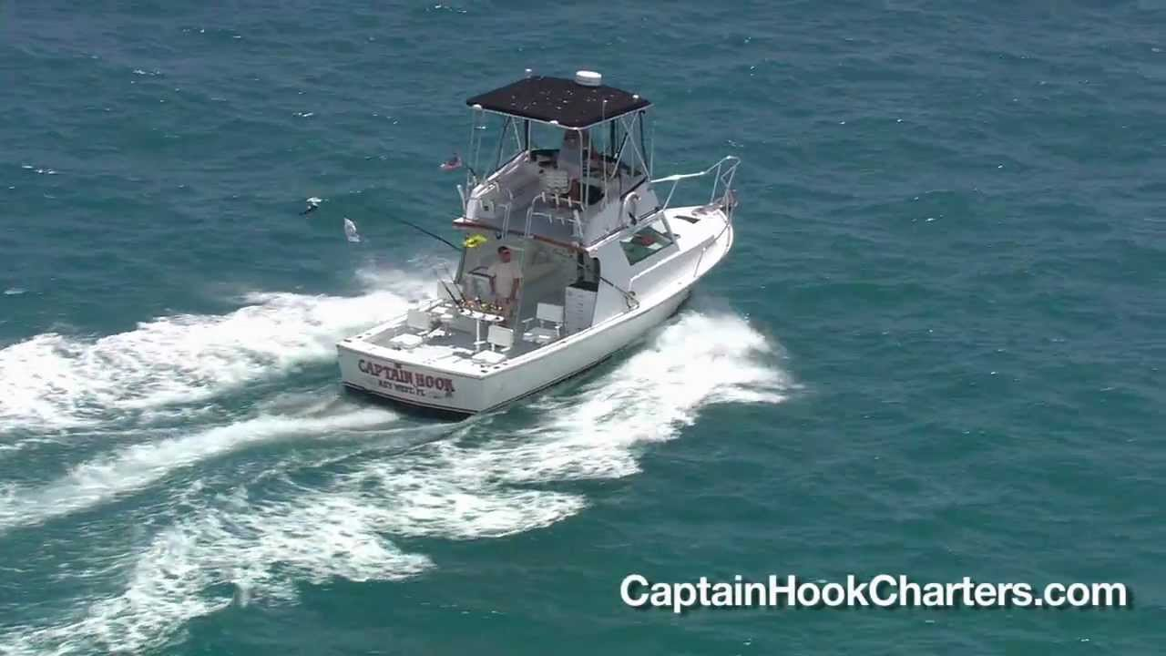 Key west fishing charters with capt hook youtube for Right hook fishing charters
