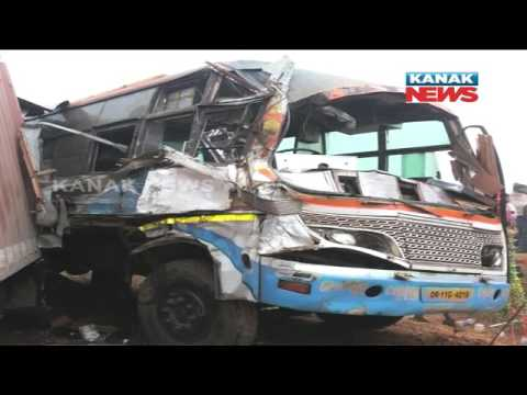 Bus-Truck Collision In Balasore Leaves 19 Injured