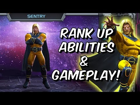 Sentry Rank Up, Abilities & Gameplay - Marvel Contest Of Champions