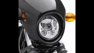 H-D XG 750 Street #41 Headlamp Cowl Removal