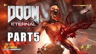 Doom Eternal Walkthrough Part 5 No Commentary | Doom 5 Mission 5
