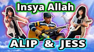 Alip Ba Ta & Jess Mancuso – Singing Collab – Insya Allah (Cover) – Maher Zain feat. Fadly