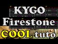 Firestone - Kygo - tuto FR guitar lesson accord tab chord