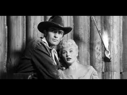 ❤ 1950s Gregory Peck -- GREAT Classic Western War Movie TCM Black and White Old Film Full Length