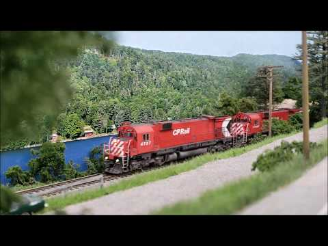 CP Rail's six-axle MLW's in Vermont