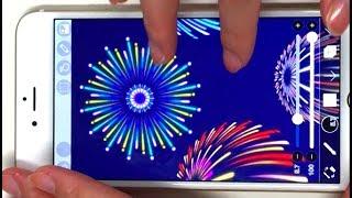 How to Draw Fireworks:打ち上げ花火の描き方