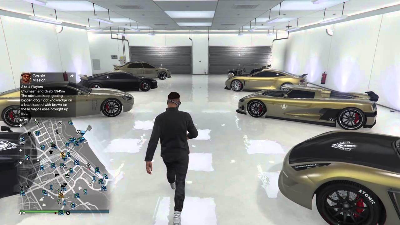 gta v online a full fledged riders gold garage youtube