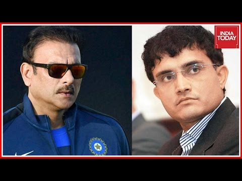 Ravi Shastri Slams Ganguly's Absence During Team India Coach Interview