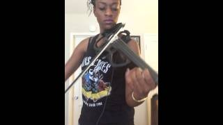 beyonc and jay z bonnie and clyde violin cover by simone the violinist