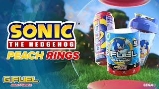 G FUEL | Sonic's Peach Rings | INSPIRED BY SONIC THE HEDGEHOG