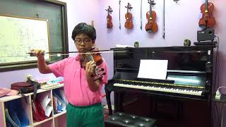 Theme from Caprice 24 -Trinity violin(2016-2019) Grade 4 -A4