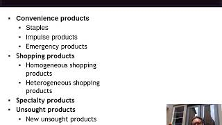 Week 5 Lecture   Consumer Product Classes
