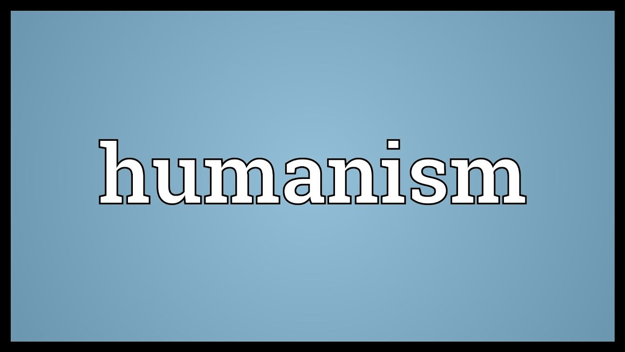 definition of humanism In what is posthumanism he carefully distinguishes posthumanism from transhumanism (the biotechnological enhancement of human beings) and narrow definitions of the.