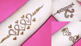 K Name Tattoo Images