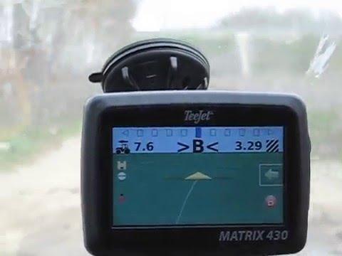 Курсоуказатель Teejet Matrix 430 GPS GLONASS , система параллельного вождения для точного земледелия