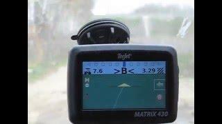 курсоуказатель teejet matrix 430 gps glonass система параллельного вождения для точного земледелия