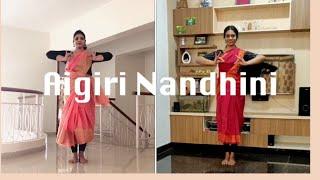 Aigiri Nandhini | Bharathanatyam Choreography | Varalakshmi Iyer ft. Sujatha Krishnan