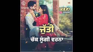 WhatsApp status Punjabi status download punjabi sad status # avi e tangg kru by Davinder bhatti