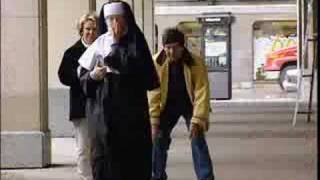 Sex obsessed nun prank