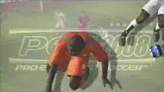 Pro Evolution Soccer 2008 - First teaser ever