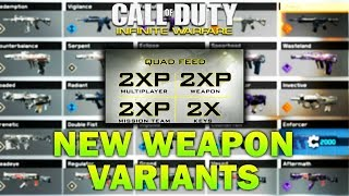 Quad XP, New Zombies Mode, 60+ New Weapon Variants Coming To Infinite Warfare Event