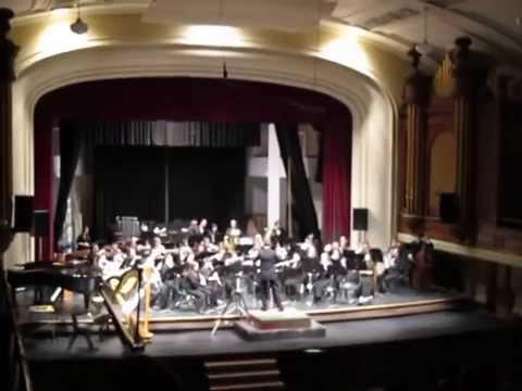 In Flight - Samuel R. Hazo - University of Alberta Symphonic Wind Ensemble