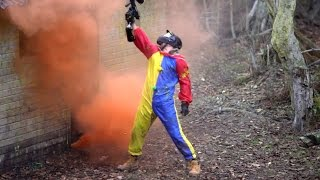 PAINTBALL DARE - 100 Shots in 10 Seconds