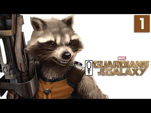 Telltale Guardians of the Galaxy Gameplay - Part 1 - Episode 1: Tangled Up In Blue - Lets Play