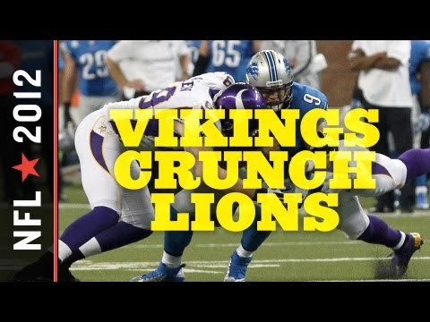 Minnesota Vikings vs. Detroit Lions 2012: Special Teams, Nasty D Lead Minny to Rare Divisional Win