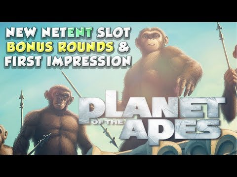 Gameplay New Planet of the Apes big win from NetEnt - Bonus rounds (Casino - Big win)