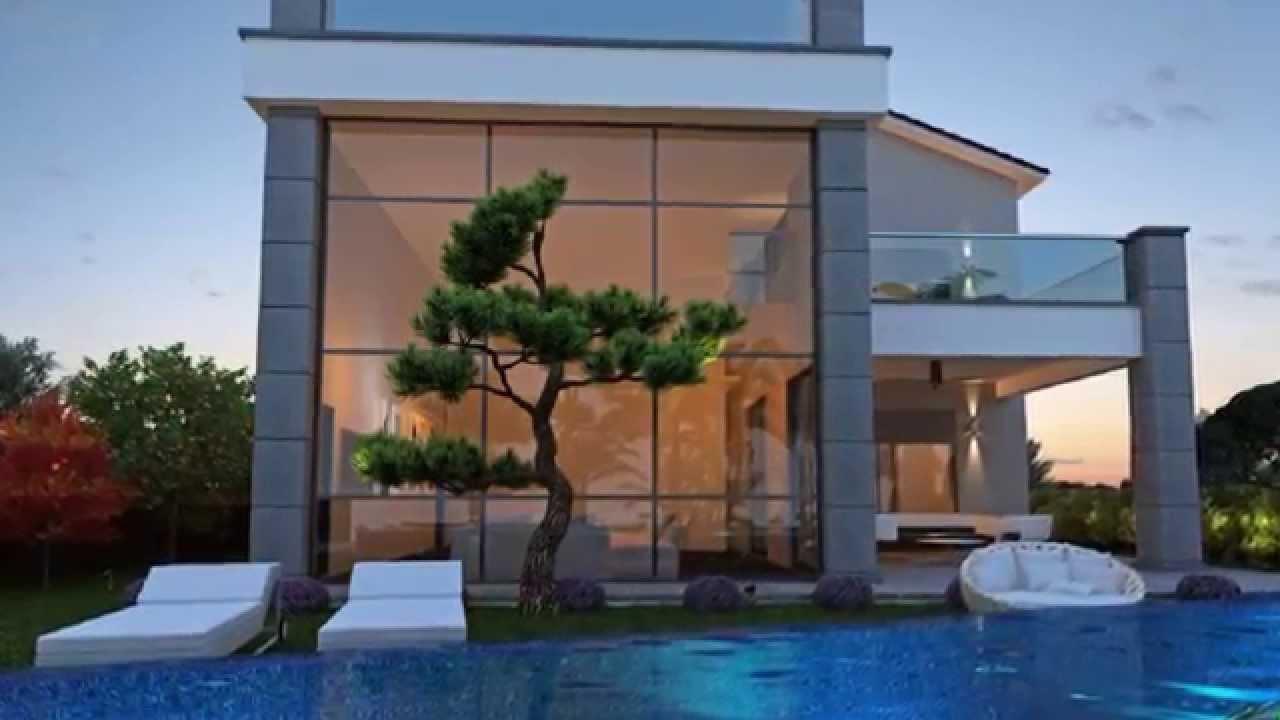 Modern beach villa in limassol cyprus